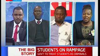 PS blames student unrest on fear of exams | The Big Story