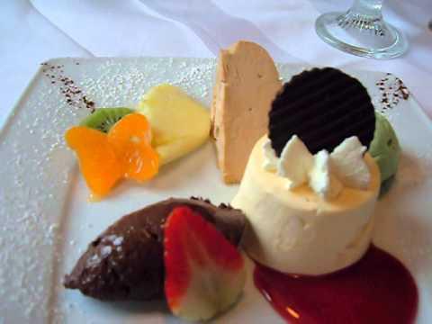 Sindringen Landgasthof Krone Dessertteller