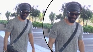 Shahid Kapoor Goes To Delhi Spotted At Airport
