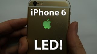 iPhone 6 LED Light up Apple Logo - DIY - lots of colors! - dooclip.me