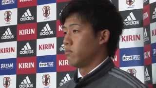 U-22日本代表国際親善試合3/11遠藤航ミャンマー代表戦後インタビュー