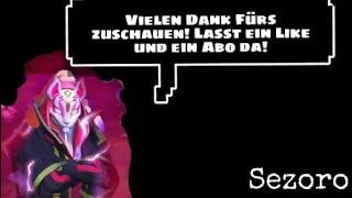 KEIN HAPPY END| Sezoro Fortnite Battle Royale