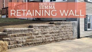 Techo Bloc Gemma Retaining Wall