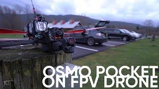 DJI Osmo Pocket on an FPV Drone - Super G+