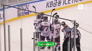 Spilgtākie spēles momenti: Latvija — Dienvidkoreja