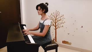 Shubhashree - Dhadak Piano Cover