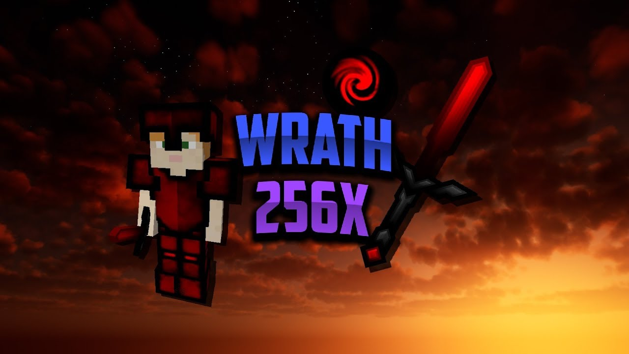 Wrath Animated Sky PvP Pack - 256x MINECRAFT Resource Pack