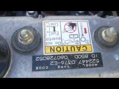 Vanguard Daihatsu DM950DT engine rebuild second engine