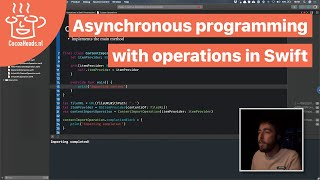 Asynchronous programming with operations in Swift, Antoine van der Lee (English)