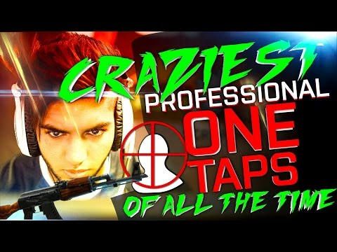CS:GO | THE MOST CRAZIEST PRO ONE TAPS OF ALL THE TIME! (INREDIBLE VAC SHOTS, LONG EDITION)