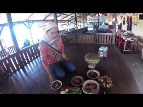 Video Wisata kuliner lokal Khas Sunda RM hj encin Purwakarta