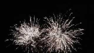 preview picture of video 'Feuerwerk 2013/2014 in Rabber'