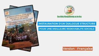 INSTAURATION D'UN DIALOGUE STRUCTURE POUR UNE MEILLEURE REDEVABILITE SOCIALE
