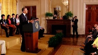 President Obama Speaks at the 2013 White House Science Fair