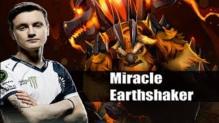 Dota 2 Stream: Liquid Miracle playing Earthshaker