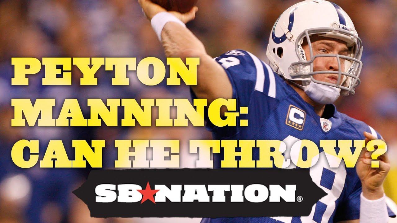 Peyton Manning: Can He Throw? thumbnail