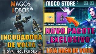 INCUBADORA DOS LOBOS DE VOLTA, NOVA LOJA HACK DA MOCO COM PACOTE EXLUSIVO, E MAIS!