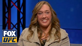 Leah Letson joins TUF Talk to break down her fight | TUF TALK