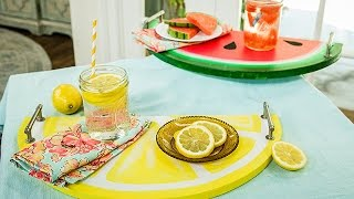 Paige Hemmis DIY Fruit Serving Trays - Hallmark Channel