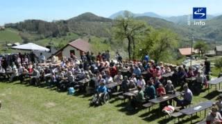 preview picture of video 'Skala TV info - aktulno Osrednja medobčinska proslava Dneva upora proti okupatorju'