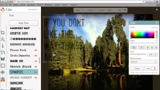 How To Make A Picture Quote - PicMonkey Tutorial