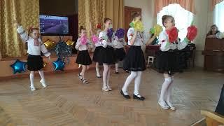 Танец на выпускной в 4- Б классе