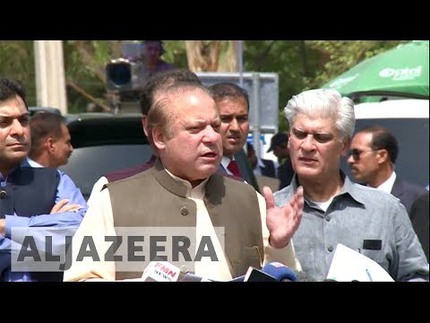 Pakistan's Nawaz Sharif steps down as PM after court disqualifies him