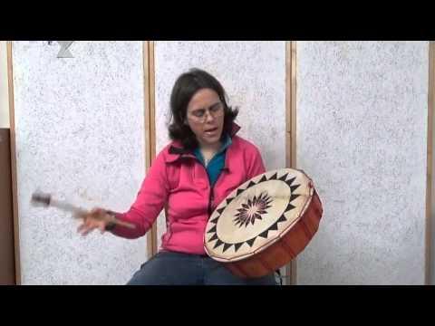 Shamanic drum lesson 1 - YouTube