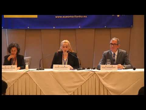 Clip 1 of EU EOM Sri Lanka 2019 Launch press conference 22 October