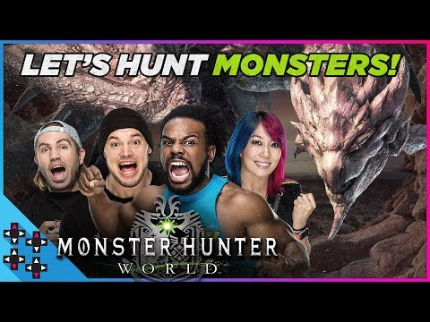 Monster Hunter: World - Team UUDD is on the Hunt!