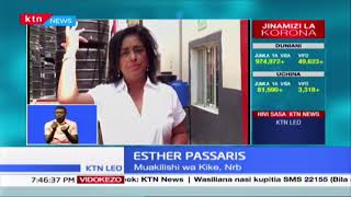 Esther Parssaris atoa msaada wa matanki mia moja
