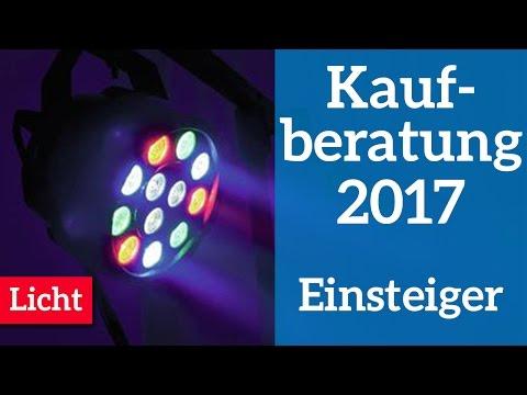 Das beste Licht für DJ Einsteiger |  Kaufberatung 2017 | Licht