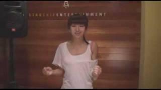 Hyo Rin (SISTAR) Audition clip. (Christina Aguilera - Hurt)