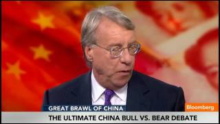Chanos, Roach Debate China Economic Future   Bloomberg
