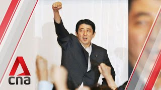 A look at Japanese Prime Minister Shinzo Abe's career