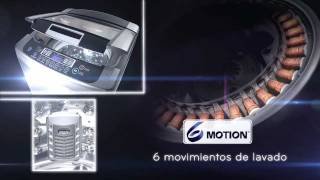 LG LAVADORA 6 MOTION