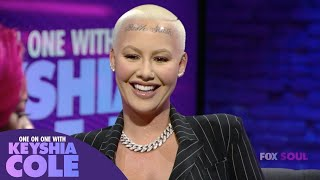 Amber Rose Shares Why She Got Her Kids' Names Tattooed On Her HEAD! - One On One With Keyshia Cole