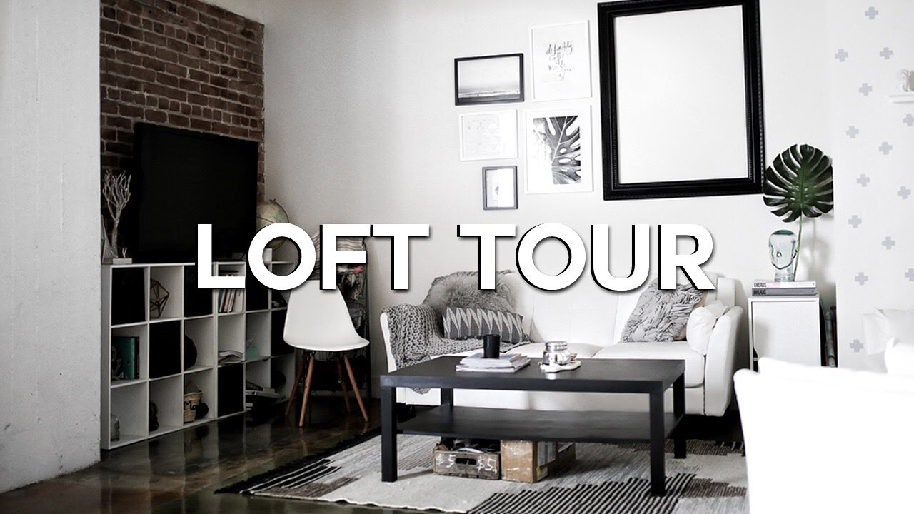 Loft Apartment Tour (2016) - Downtown Los Angeles