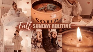 MY FALL SUNDAY ROUTINE 2019: Relaxed, Productive & Super Cosy   Gemma Louise Miles