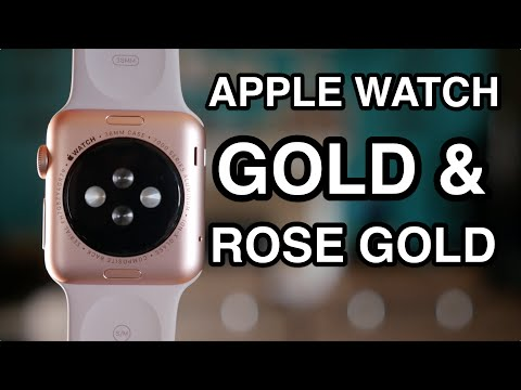 Apple Watch Sport Gold & Rose Gold Unboxing and Overview!