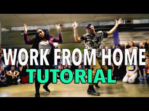 WORK FROM HOME - Fifth Harmony (Dance TUTORIAL) | @MattSteffanina Choreography