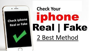 How To Check Your iphone is Fake or Real ? kaise pata kare iphone real hai ya fake - Download this Video in MP3, M4A, WEBM, MP4, 3GP