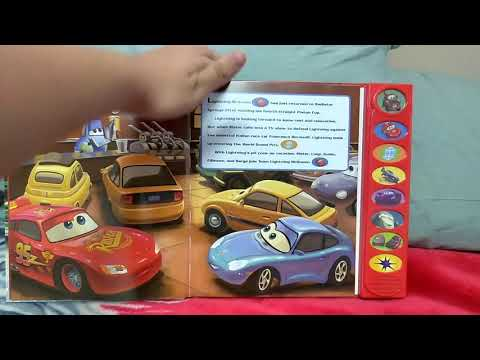 Cars 2 (Play A Sound Book)