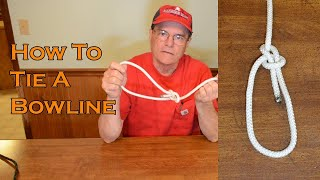 How to Tie a Bowline Easy Directions