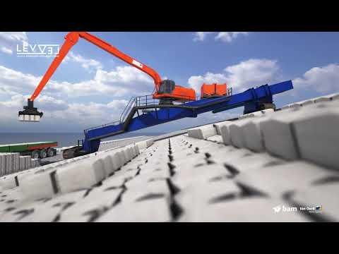 Dijkversterking Afsluitdijk Waddenzeezijde