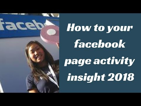 Best tip for Facebook Page analytics 2018