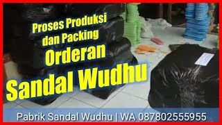 Sandal Wudhu Terlaris - Motif Air