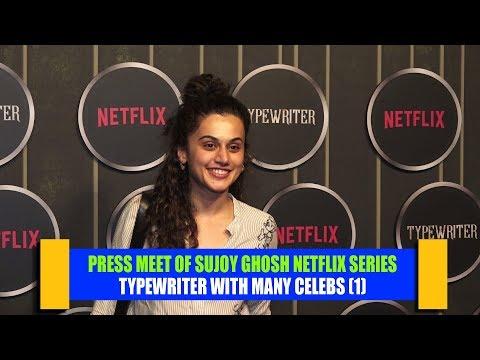 Download Press Meet Of Sujoy Ghosh Netflix Series Typewriter With