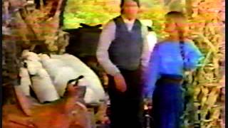 Int Jane Seymour et Joe Lando - On the set DQ