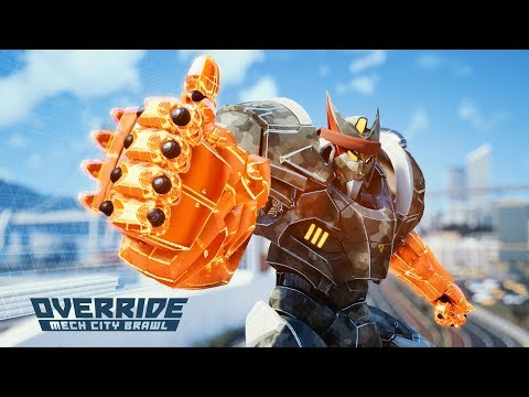 OVERRIDE: MECH CITY BRAWL - Launch Trailer thumbnail